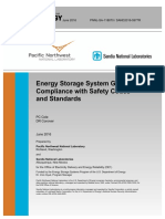 Energy Storage System Guide for Compliance With Safety Codes and Standards 2016