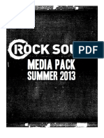 Rock Sound Magazine Media Pack