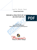 Theory & Practice of Auditing Bcom Part-3