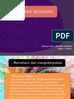 Powerpoint Bahasa indonesia(Negosiasi)