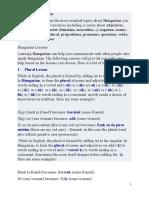 Hungarian Grammar for Romanian