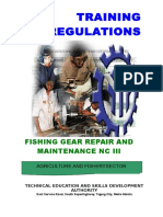 TR Fishing Gear Repair and Maintenance NC III