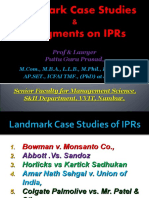 Landmark Case Studiesof IPRs [Autosaved] 3