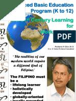 Dr. Giron-1 K to 12 Enhanced Edited PATEF 2 August 22, 2013