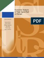 Economic Analysis HSR
