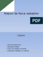 Noţiuni de Fizica Radiaţiilor