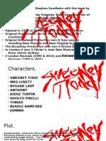Sweeney Todd Presentation