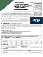 Wapda Hbd Form