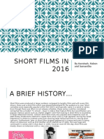 Short Films in 2016