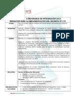 Asesorias Pie 2014