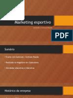 Marketing Esportivo Judo Gatorade