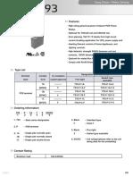 793-P-1C Relay Data Sheet