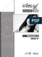 Saber 9 Matemáticas 2009