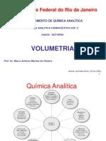 Química Analítica Volumetria - DQA UFRJ