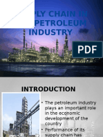 supply chain in petroleum