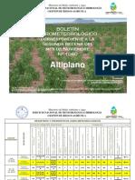 Boletín Agrometeorológico correspondiente a La Segunda Decena Del Mes de Noviembre Nro. 1060-ALTIPLANO