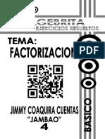 4 Factorizacion Basico Algebrita Con Don Jambao