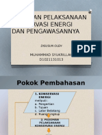 11.Pedoman Pelaksanaan Konservasi Energi Dan Pengawasannya