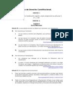 Guía de Derecho Constitucional
