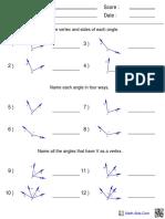 Angles Naming