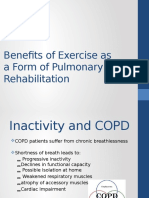 benefits of exercise for copd