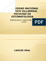 Clase Unfv Cancer Oral