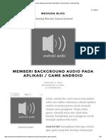 Memberi Background Audio Pada Aplikasi _ Game Android – Mkhuda Blog