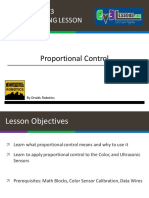 Proportional Control