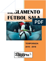 Reglamento Futbol Sala 15_16