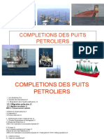 FORMATION CSI COMPLETION DES PUITS PETROLIERS support 1 2015