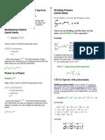 Algebra1 Study Guide