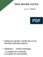 14. Parodontitele Apicale Cronice
