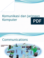 8. Komunikasi Dan Jaringan Komputer