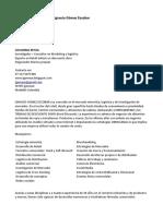 Presentacion Profesional IGNACIO GÓMEZ ESCOBAR  Actualizada en OCTUBRE 2016