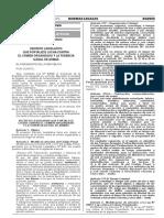 DECRETO LEGISLATIVO Nº 1244 DECRETO LEGISLATIVO QUE FORTALECE LUCHA CONTRA EL CRIMEN ORGANIZADO Y LA TENENCIA ILEGAL DE ARMAS