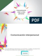 5comunicación Inter e Intra Personal