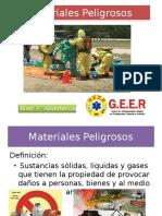 Clase 10- Materiales Peligrosos ASC