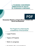 Presentation Haccp