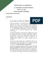 Introduccion a La Linguistica Taller 2- Anet Silvina