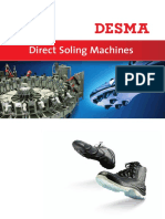 5 Direct Soling Machines