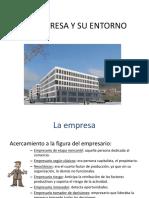 Eie 2-La Empresa y Su Entorno