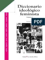 Victoria Sau - Diccionario Ideologico Feminista I