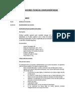 05_especificaciones Tecnicas Complementarias