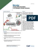 Dengue Virus Perturbs Mitochondrial Morphodynamics to Dampen Innate Immune Responses