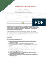 Guia Para Lavado Peritoneal Diagnostico