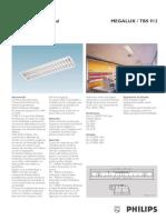 Luminaria Fluorescente TBS 912 Philips