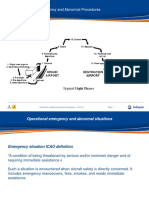 37 Operational Emergency and Abnormal Procedures
