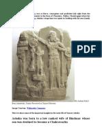 History of Ashoka