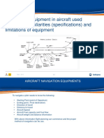 158 Navigation Equipment in Aircraft Used