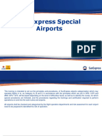 161 Special Airports